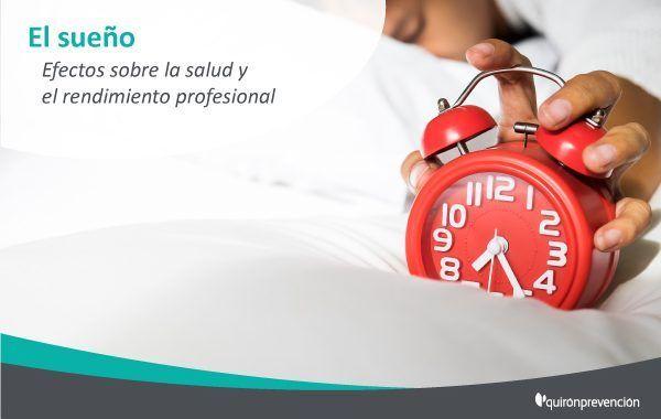 ¿Sabes cómo afecta el sueño a la salud y el rendimiento en el trabajo?