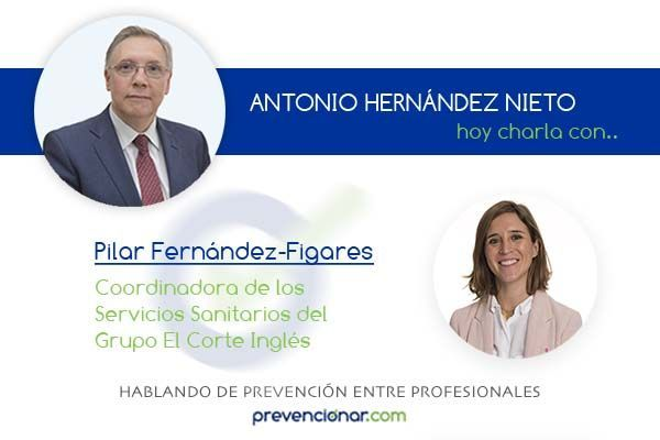 Pilar Fernández-Figares Vicioso y el trabajo en equipo en el Servicio de Prevención