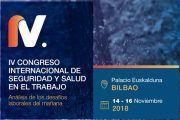 Osalan celebrará en noviembre en el Palacio Euskalduna de Bilbao el IV Congreso Internacional de Seguridad y Salud en el Trabajo