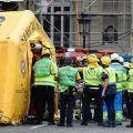 Un muerto y once heridos en un derrumbe en las obras del hotel Ritz