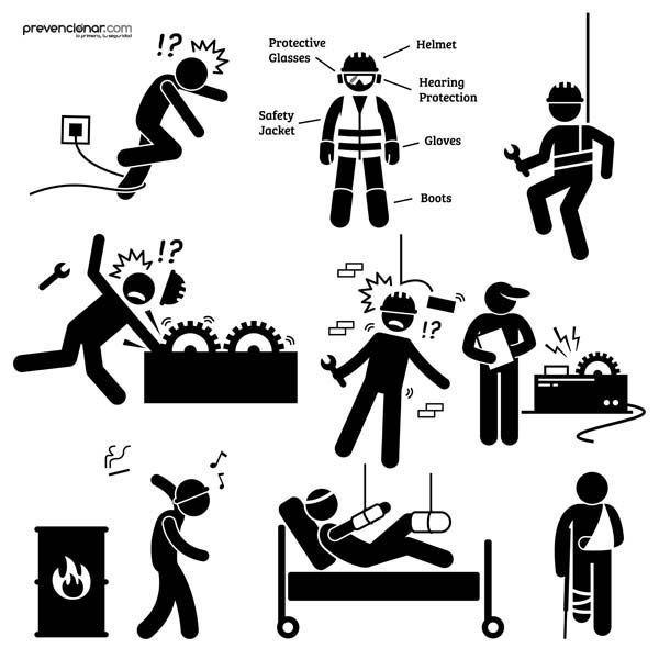 Declaraciones de una víctima de un accidente laboral: