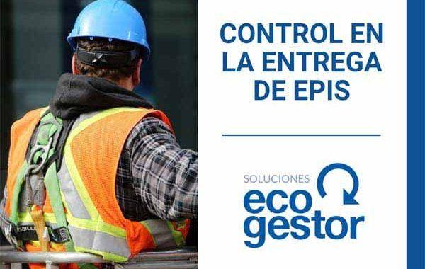 Control en la entrega de EPIs