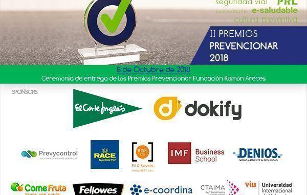 Programa Gala de entrega de los Premios Prevencionar 2018