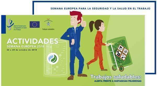 Participa en la Semana Europea para la Seguridad y la Salud en el Trabajo
