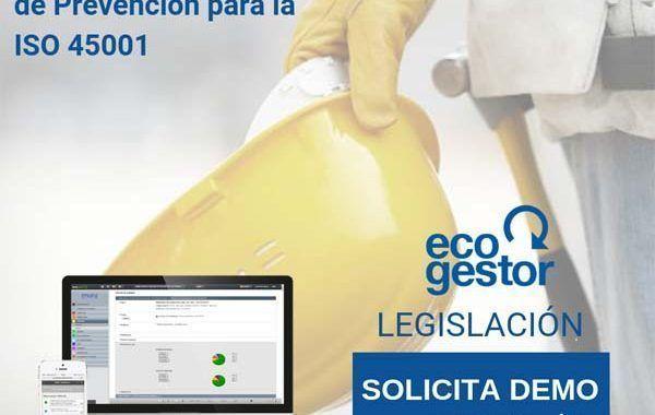 Legislación de Prevención para la ISO 45001