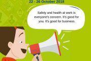 La Semana Europea para la Seguridad y la Salud en el Trabajo 2018 a la vuelta de la esquina