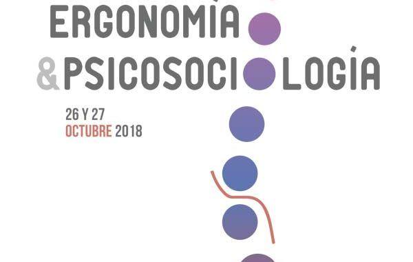 Hoy comienza el XII Congreso Nacional Ergonomía & Psicosociología