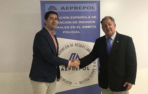 La Asociación Española de PRL en el ámbito policial (AEPREPOL) y Prevencionar firman un acuerdo de colaboración