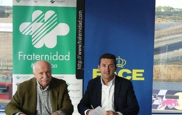 Fraternidad-Muprespa y el RACE firman un convenio de colaboración para prevenir los accidentes laborales de tráfico