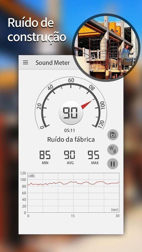 Sonómetro en tu móvil ¡100% gratis!