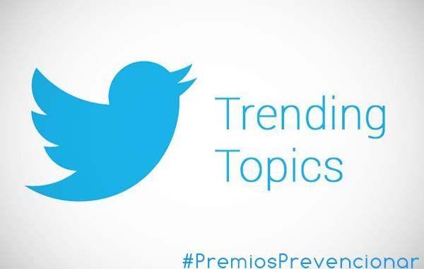 Premios Prevencionar Trending topics