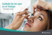 ¡Cuida de tus ojos en el trabajo! ¿Sabes cómo hacerlo?