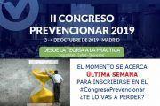 #CongresoPrevencionar - Última semana de Inscripciones