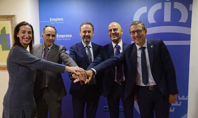 La Universidad de Murcia, la UPCT y la Comunidad Autónoma crean la Cátedra en Prevención de Riesgos Laborales