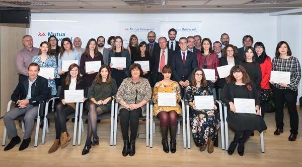Mutua Universal entrega el 'Bonus Prevención' a 23 empresas de la Comunidad de Madrid