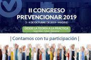 Congreso Prevencionar 2019 –   Contamos con tu participación  