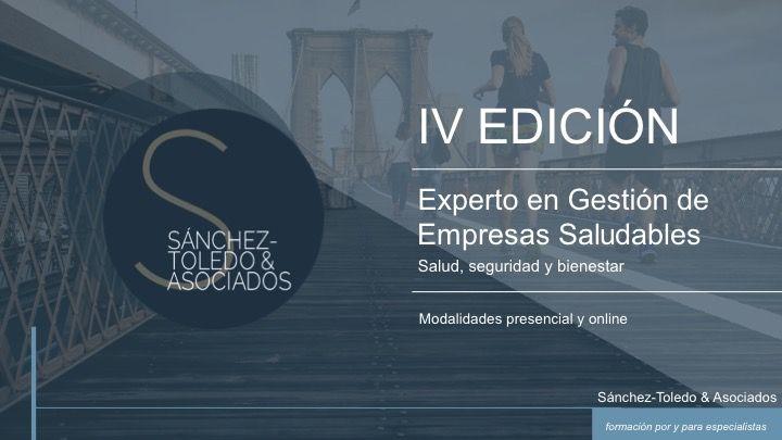 Curso Experto en Gestión de Empresas Saludables 2019