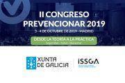 El Instituto Gallego de Seguridad y Salud Laboral (ISSGA) se suma al II Congreso Prevencionar 2019