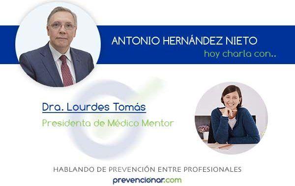 Lourdes Tomás, liderando la transformación saludable de las organizaciones