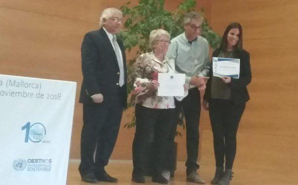 La URJC galardonada por su trabajo como organización promotora de la salud