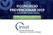 El Instituto Nacional de Seguridad y Salud en el Trabajo (INSST) dará a conocer las actividades que se desarrolla en el #CongresoPrevencionar