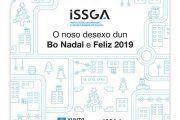 El Instituto de Seguridad y Salud Laboral de Galicia (ISSGA) os desea Feliz 2019