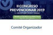 Comité Organizador del II Congreso Prevencionar 2019