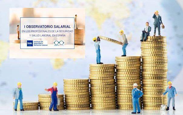 El salario medio de los profesionales de la Seguridad y Salud Laboral se sitúa entre los 18.000 y 30.000 euros en España