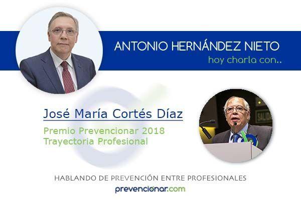 José María Cortés Díaz, historia viva de la prevención de riesgos laborales