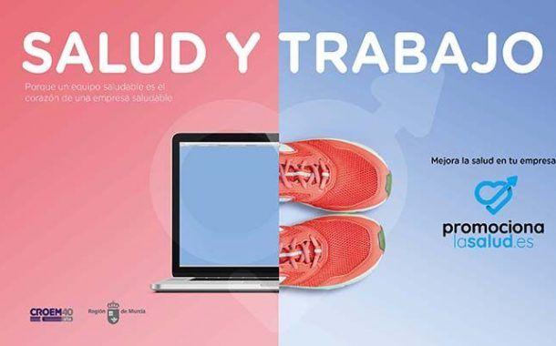 CROEM pone en marcha para promocionar el bienestar en el trabajo la página web promocionalasalud.es