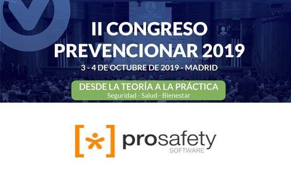 Prosafety Software patrocinador del II Congreso Prevencionar 2019