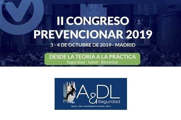 A&DL Seguridad  compartirá sus nuevas formaciones prácticas e innovaciones en altura en el #CongresoPrevencionar