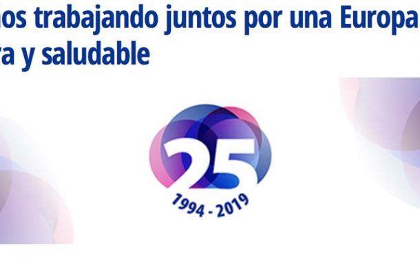 La EU-OSHA cumple 25 años ¡Felicidades!