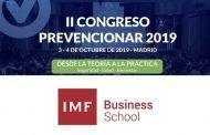 IMF Business School patrocinador del Congreso Prevencionar 2019
