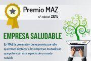 Mutua MAZ convoca la 5ª Edición de los Premios Empresa Saludable
