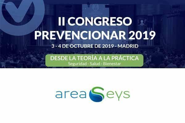 AREASeys patrocinador del II Congreso Prevencionar 2019