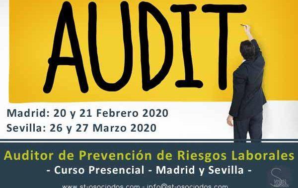 Curso: Auditor de Prevención de Riesgos Laborales