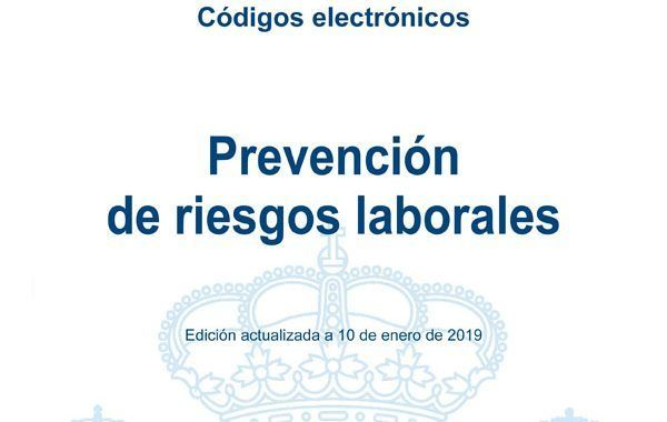 Códigos electrónicos de Prevención de Riesgos Laborales