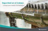 Riesgos y medidas de prevención para trabajos a la intemperie con lluvia y viento