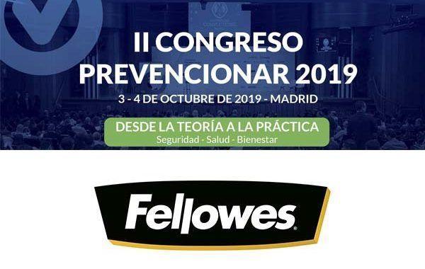 Fellowes mostrará cómo mejorar la salud en el puesto de trabajo durante el #CongresoPrevencionar