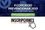 II Congreso Prevencionar 2019 ¿aún no has realizado tu inscripción?