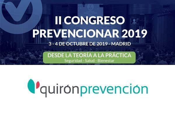 Conoce las actividades que QuirónPrevención llevará a cabo en el #CongresoPrevencionar