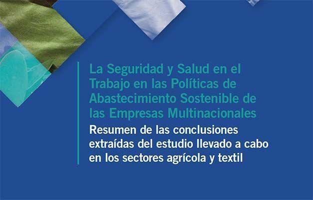 La Seguridad y Salud en el Trabajo en las Políticas de Abastecimiento Sostenible de las Empresas Multinacionales