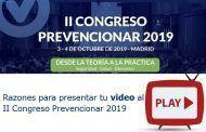Razones para presentar tu video en el II Congreso Prevencionar 2019