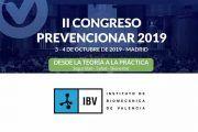 El Instituto de Biomecánica de Valencia (IBV) patrocinador del II Congreso Prevencionar 2019