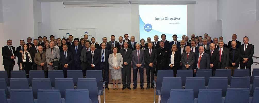 El presidente de la CEV, Salvador Navarro, preside la Junta Directiva de Unión de Mutuas
