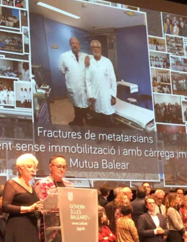 "Mutua Balear galardonada en la ""V Jornada de Salut de les Illes Balears"""