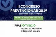 La Escuela de Prevención y Seguridad Integral de la UAB se suma al II Congreso Prevencionar 2019