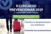 Desplazamientos Congreso Prevencionar ¡¡Consulta las promociones!!