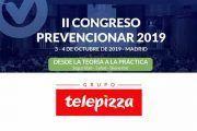 Grupo Telepizza patrocinador del II Congreso Prevencionar 2019